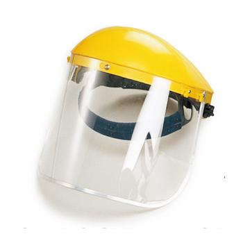 Careta de proteccion facial transparente