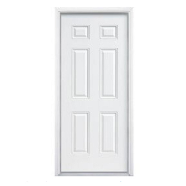 """Puerta craftmaster de 6 paneles de 30"""" x 7' color blanco"""