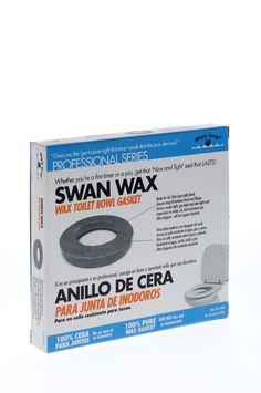 Aro de cera para inodoro BLACK SWAN