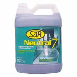 Limpiador para pisos neutral 7 de 1gl SAR