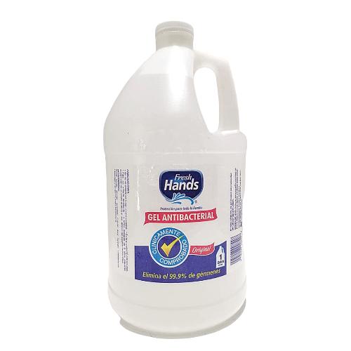 Gel alcoholado antibacterial 1 galón- Fresh Hands