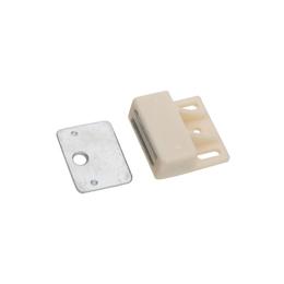 Cierre en plástico cerradero en acero enchapado en zinc blanco national hardware