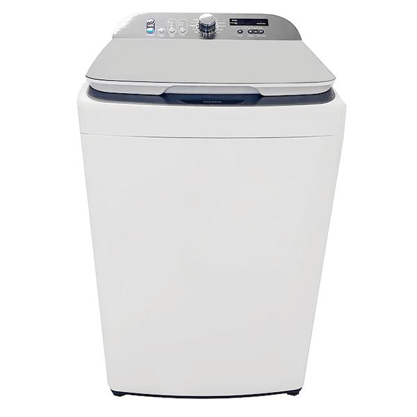 Lavadora automática de carga superior con capacidad de 16kg color blanco NISATO