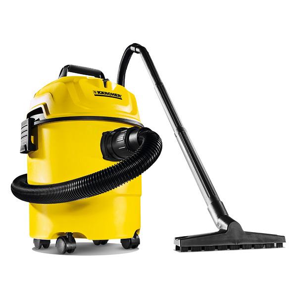Aspiradora convencional seco/mojado modelo WD 1 con capacidad de 15L y función d