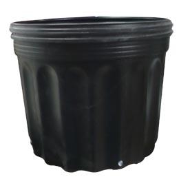 Macetero para vivero # 2800 34.8cm x 30cm altura 30cm color negro