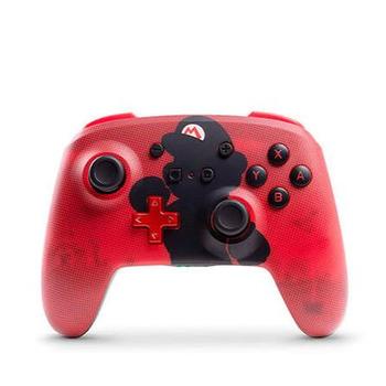 Control inalámbrico diseño Super Mario para Nintendo Switch POWER A