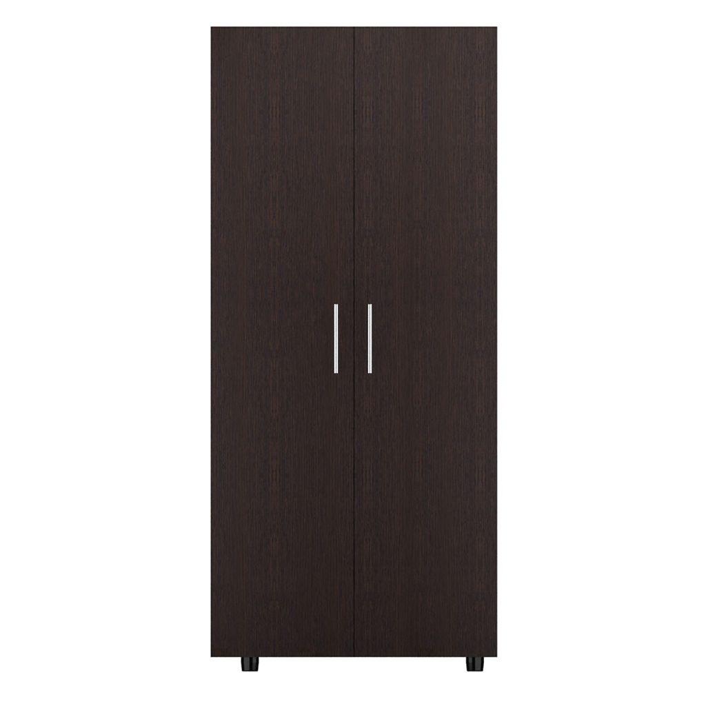 Mueble Closet  180cm x 80cm x 48cm modelo Tera de color Wengue Negro RTA
