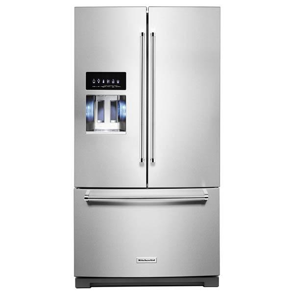 """Refrigeradora French Door de 36"""" con capacidad de 26.8 p3 KITCHENAID"""
