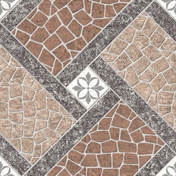 Piso de cerámica de 45cm x 45cm modelo Itamaraca para interior/exterior caja de