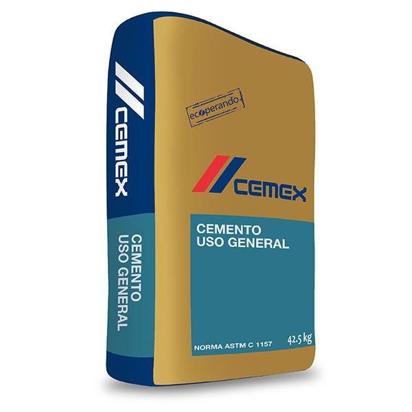 Cemento de uso general de 42.5kg CEMEX