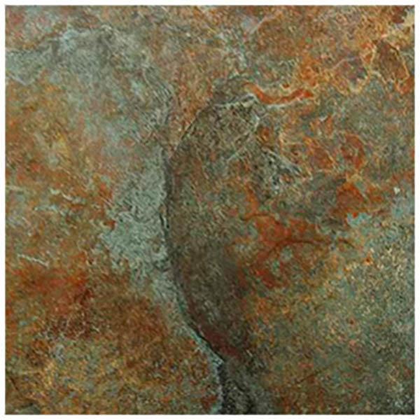 Piso de cerámica de 45cm x 45cm modelo Laredo rústico para exterior - caja de 1.