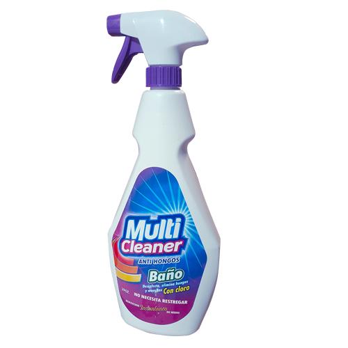 Limpiador para baño con cloro y anti hongos 29 onzas- MULTICLEANER