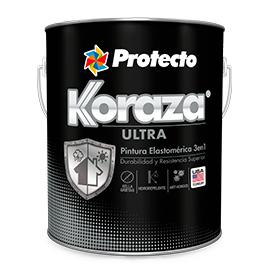 Pintura elastromérica Koraza 3 en 1 base intermedia 1 galón (3.785 litros) PINTU