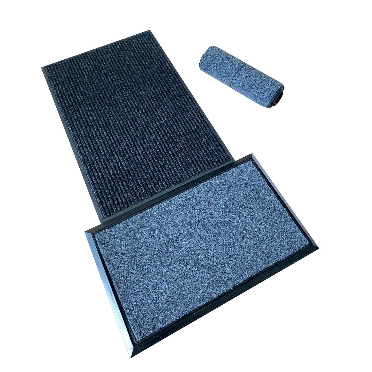 Set de pediluvio con almohadilla de repuesto + alfombra de secado