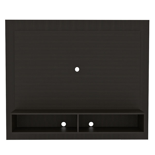 Mueble panel de TV de 130cm x 160cm x 30cm modelo Vostok de color wengue RTA