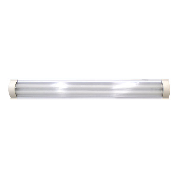 Luminaria led superficial decorativa de 2 tubos de 15 watts modelo 500 duralite