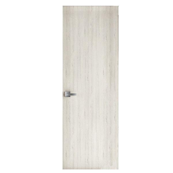 Puerta laminada de 2' x 7' modelo Artico de color gris claro