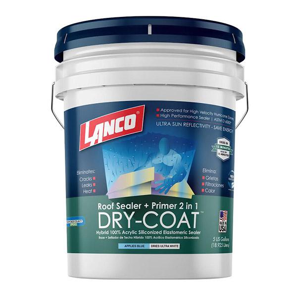 Pintura impermeabilizante Dry Coat para techo color blanco de 5gl LANCO