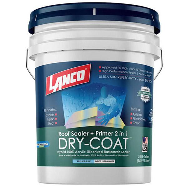 Pintura impermeabilizante Dry Coat para techo color blanco de 5gl