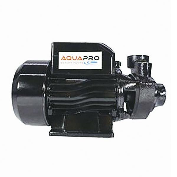 Bomba de agua de 0.5HP tipo periferica de color negro AQUAPRO