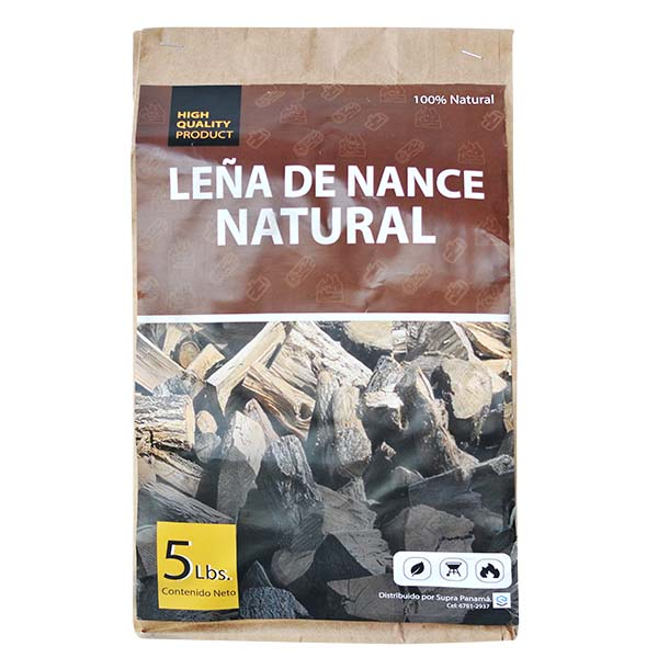 Leña de Nance Natural 5 libras