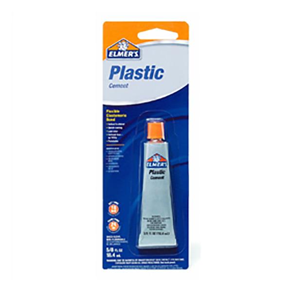 Cemento plástico de 18.4ml para interior y exterior transparente ELMER'S