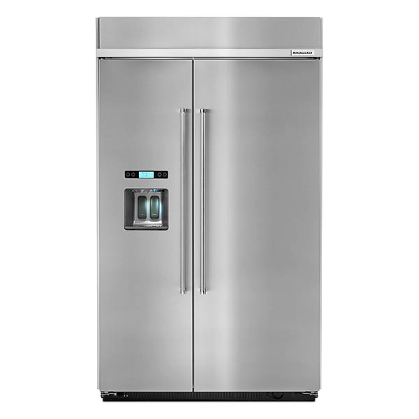 """Refrigeradora side by side 48"""" con capacidad 29.5 p3 KITCHENAID"""