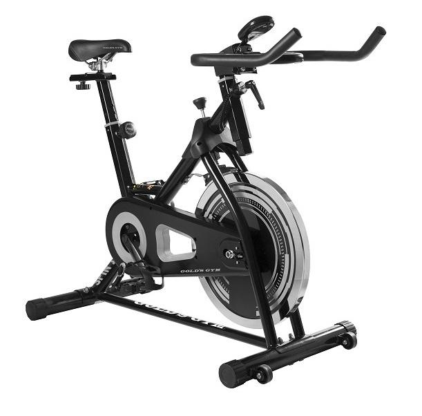Bicicleta estática Spin 100 impulsada con cadena