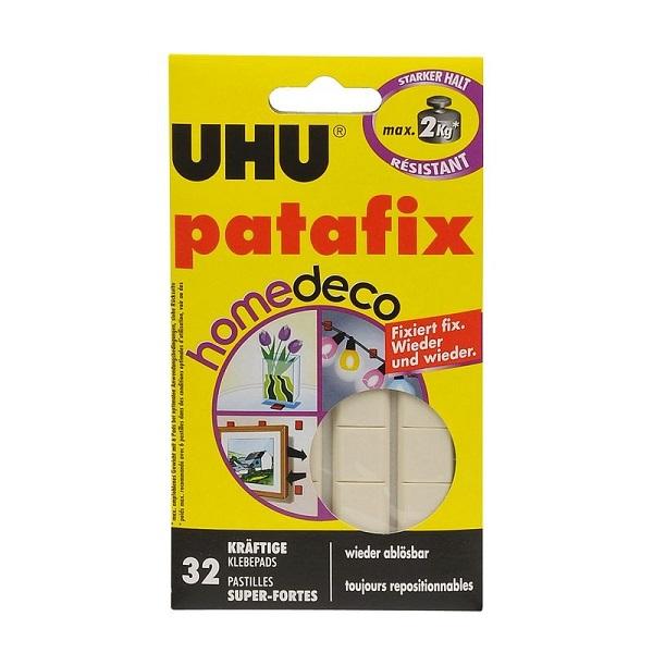 Masilla epóxica adhesiva de color blanco UHU