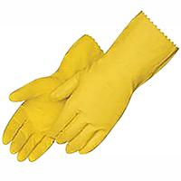 Guantes de latex reusables para limpieza ( 1 Par) Medium