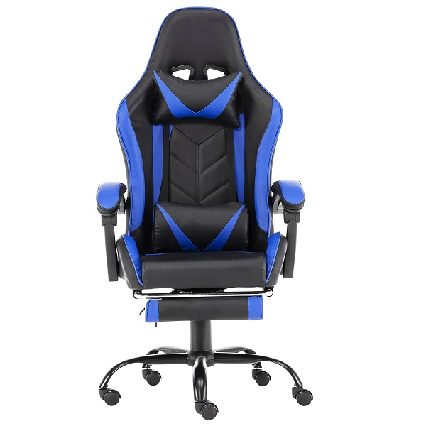 Silla gamer modelo LD002 color azul