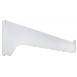 """Brazo de riel para tablillas de 12"""" de color blanco KNAPE & VOGT"""