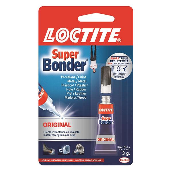 Adhesivo Super Bonder Original  3 gramos LOCTITE