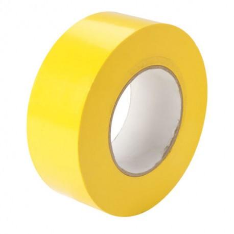 """Cinta adhesiva de 3"""" x 80yd para embalar color amarillo"""