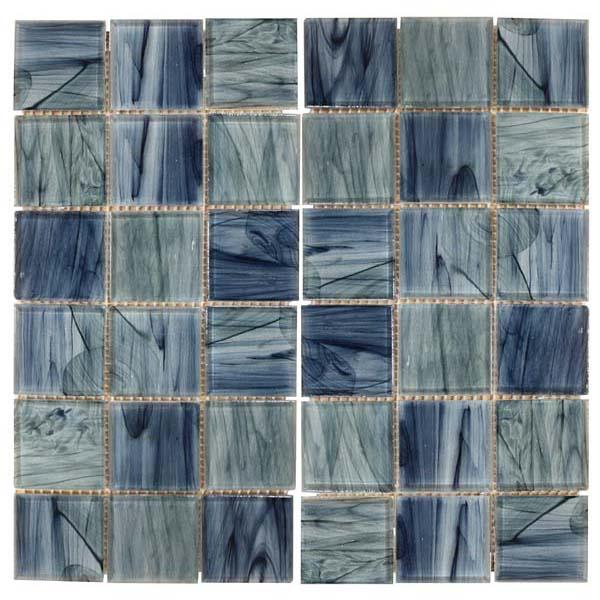 Mosaiquillo vitrificado 30x30cm square blue