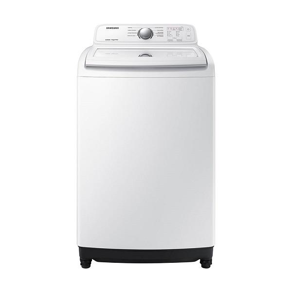 Lavadora automática de carga superior con capacidad de 17kg color blanco SAMSUNG