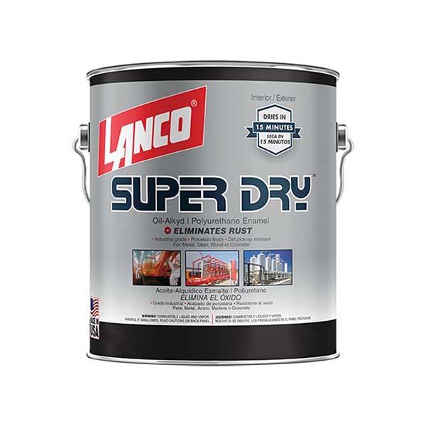 Pintura de esmalte de poliuretano Super Dry de secado rápido acabado brillante c