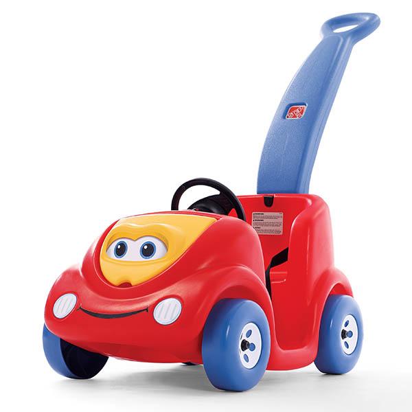 Carrito modelo Buggy de empujar edición de Aniversario para niños color rojo STE