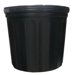 Macetero para vivero # 1200 28cm x 23cm altura 25.2cm color negro
