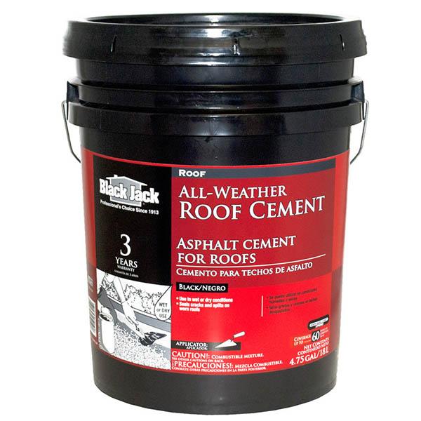Cemento asfáltico Sellalotodo para techos de 5gl (18.92L) BLACK JACK