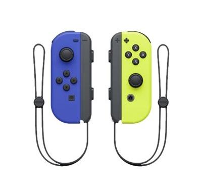 Controles Joy Con, izquierdo y derecho, azul y amarillo ( 2 piezas) - Nintendo S