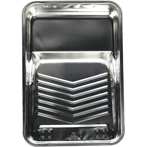 Bandeja de metal de 1gl de color plateado AMERICAN BRUSH