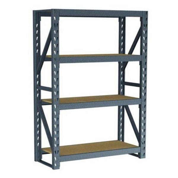 Estantería de 104cm x 43cm x 183cm de acero de 4 niveles con capacidad de soport