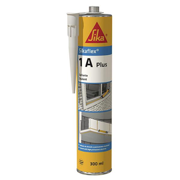 Sellador de poliuretano Sikaflex 1A Plus blanco 300ml SIKA