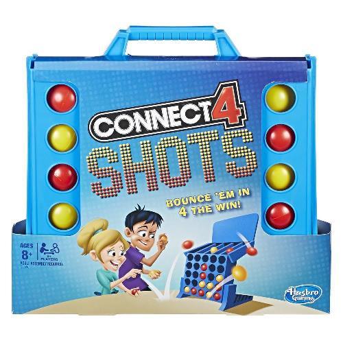 Juego de mesa Conecta 4 Shots - Hasbro