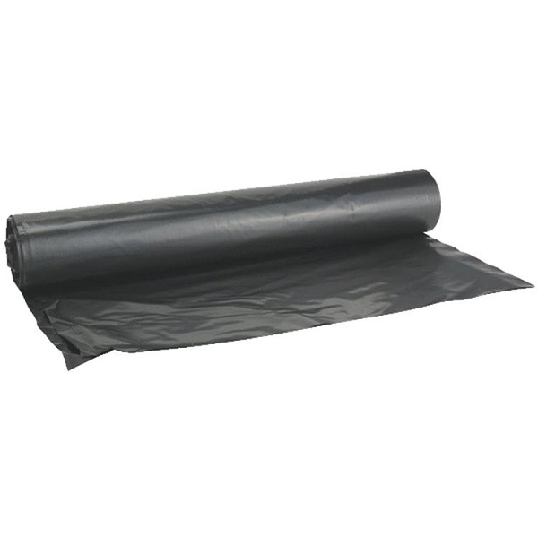 Plástico de 3' x 50' x 4mil color negro GRIP RITE