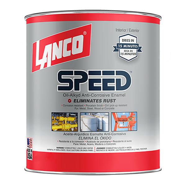 Pintura de esmalte anticorrosiva Speed anti-rust para interior y exterior de aca