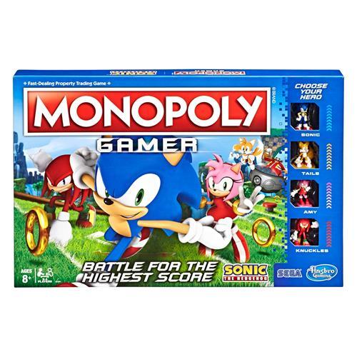 Juego de mesa Monopoly Gamer Sonic - Hasbro