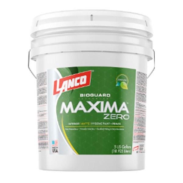 Pintura antibacterial Maxima Zero 5 galones (18.92 litros) LANCO