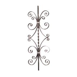 Panel  de 900mm x 300mm x 12mm modelo 51/3 hierro decorativo